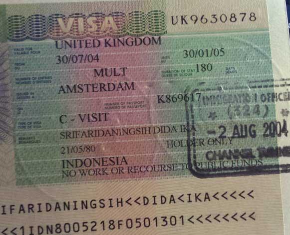 Visa Schengen Belanda Inggris Cara Membuat Visa Com